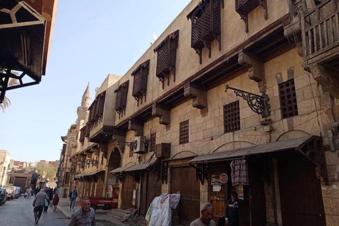 nomade visite du caire souk architecture ancienne moucharabieh