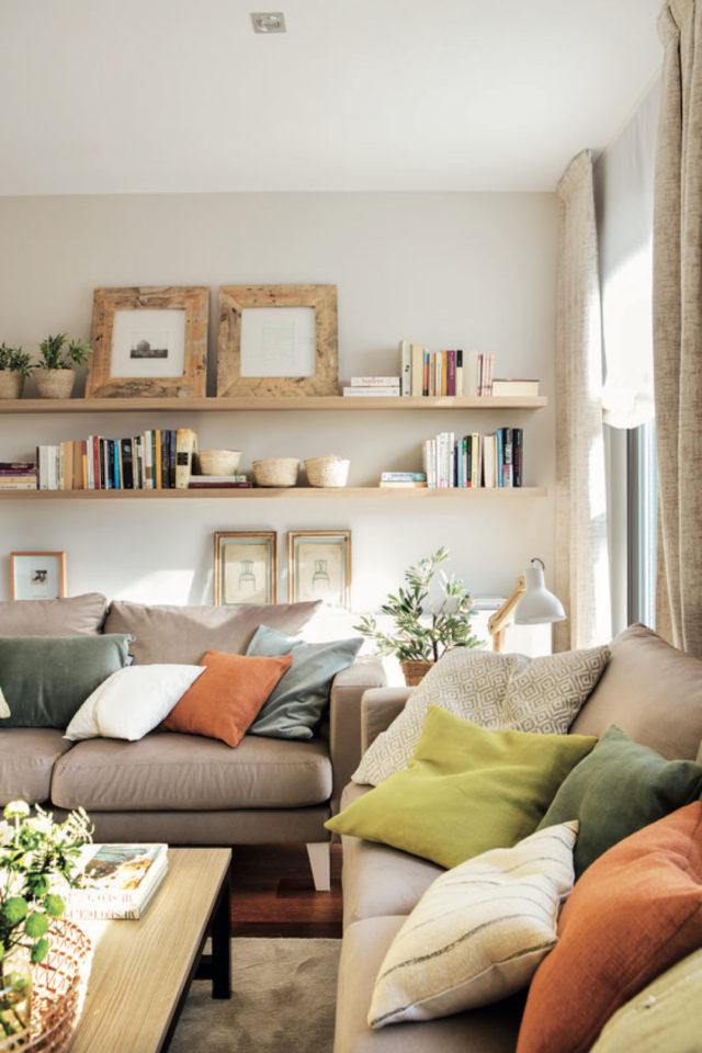 salon luminaire appoint exemple petite lampe à poser style bureau articulé ambiance scandinave