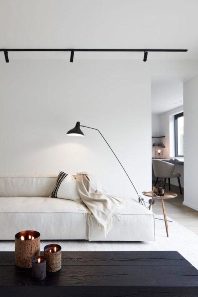 salon luminaire appoint exemple applique murale articulée design