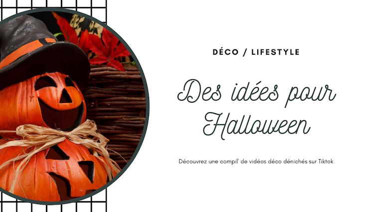 idee deco halloween usa video compliation tiktok sorcière facile DIY