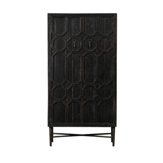 ou trouver deco rock armoire buffet rangement noir style gothique