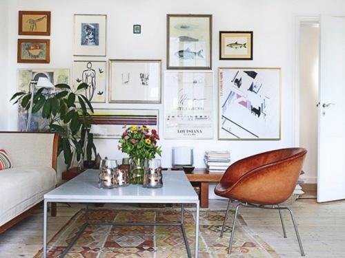 Salon cosy et moderne cocon de d coration le blog - Deco muurdecoratie ...
