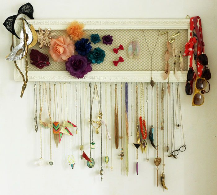 Comment cr er un salon design cocon de d coration le blog - Fabriquer porte bijoux ...