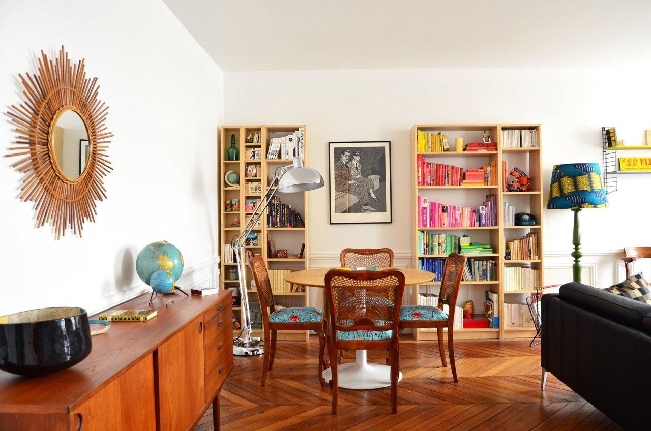 Déco Salle À Manger Vintage visite - un appartement éclectique | cocon - déco & vie nomade