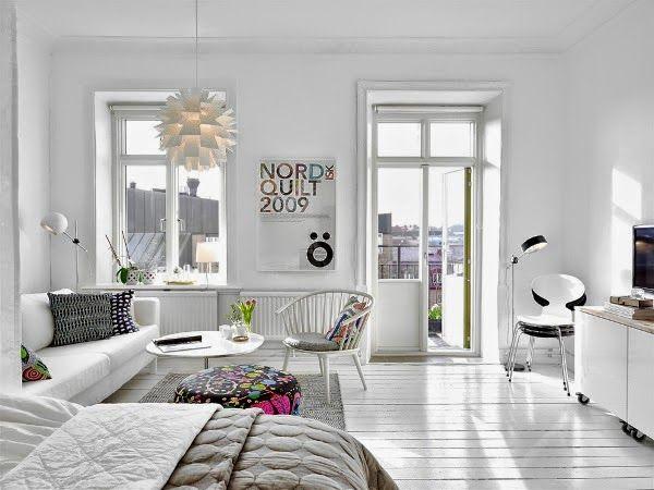 visite un appartement clectique cocon de d coration le blog. Black Bedroom Furniture Sets. Home Design Ideas