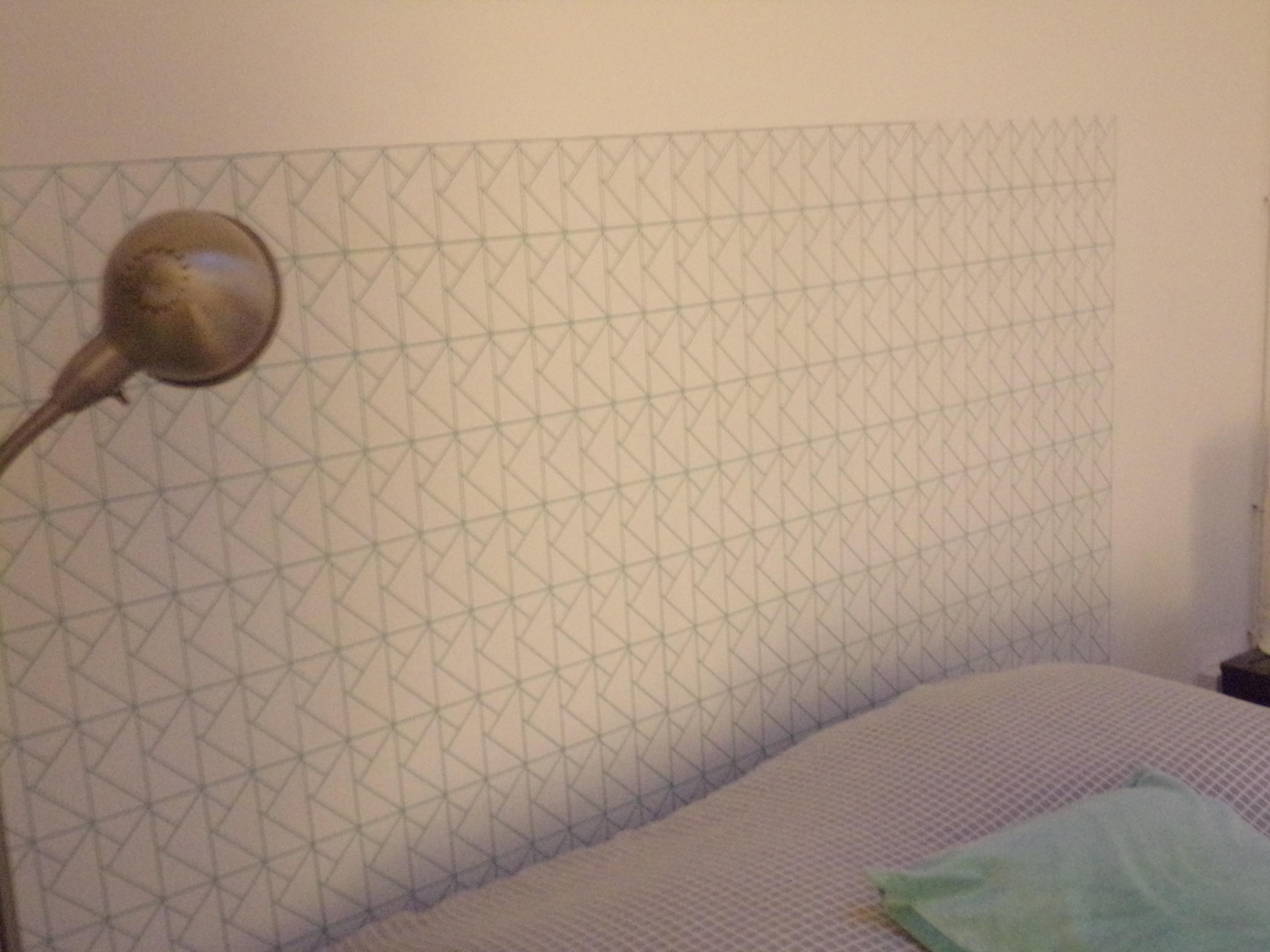 Papier Peint Pour Faire Tete De Lit ma tête de lit | cocon - déco & vie nomade