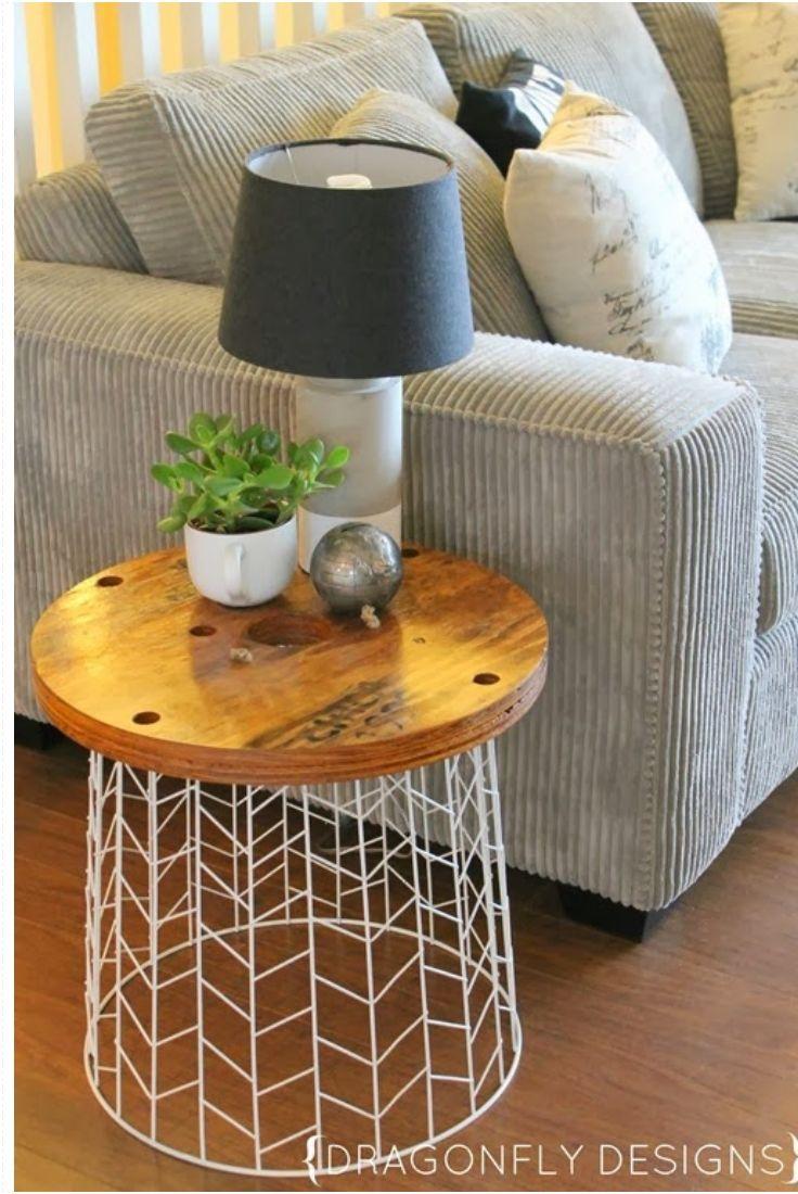 Décorer Un Touret En Bois 10 diy pour se meubler à moindre frais | cocon - déco & vie