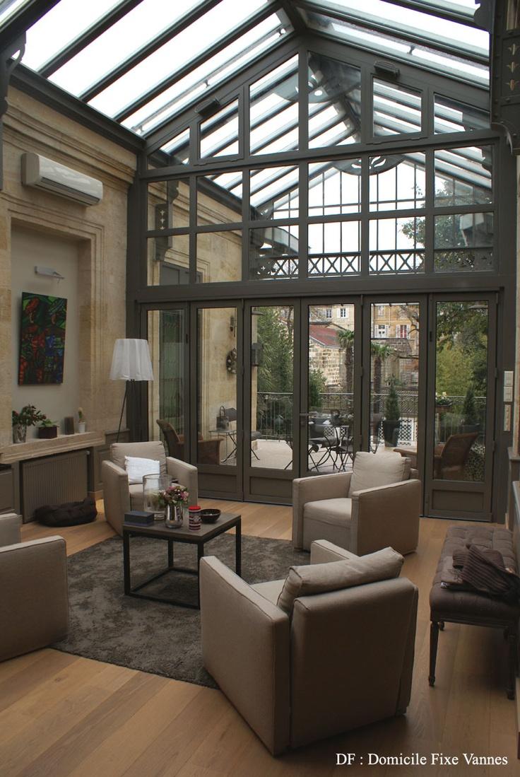 Deco Veranda Interieur inspiration - entre intérieur et extérieur: la véranda