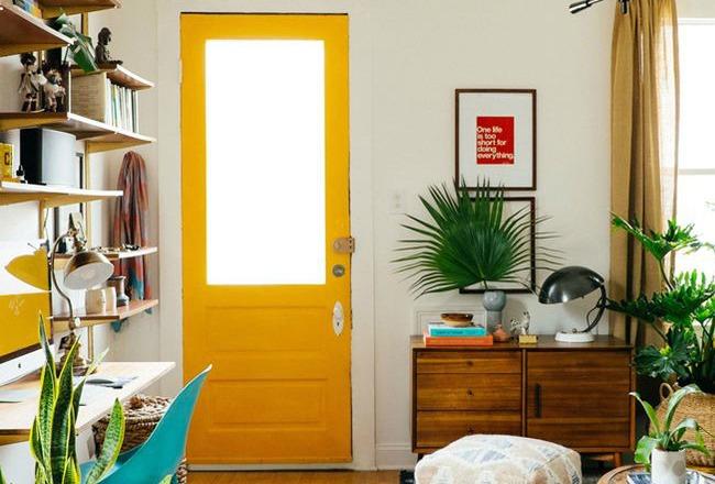 10 id es pour mettre en valeur une porte cocon d co vie nomade. Black Bedroom Furniture Sets. Home Design Ideas
