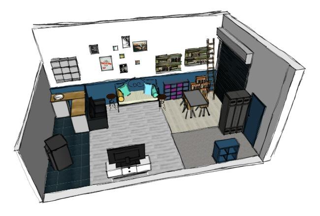Transformation de mon atelier en salle à manger (part1 ...