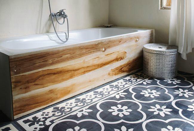 Salle d eau cocon de d coration le blog for Bois dans salle de bain