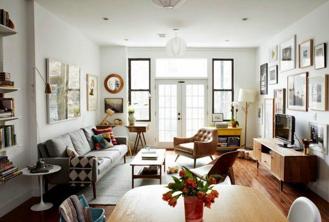 visite deco appartement contemporain et familial