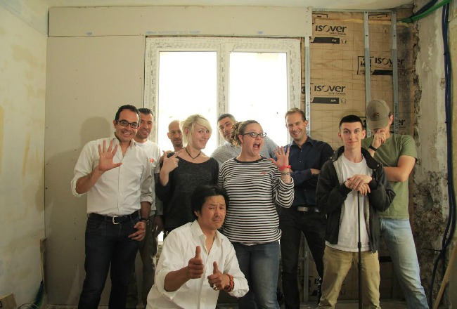 equipe tournage isover