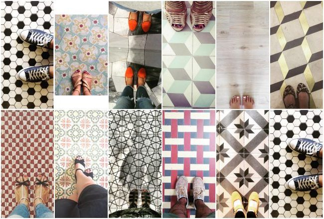 selection revetement de sol tendance instagram