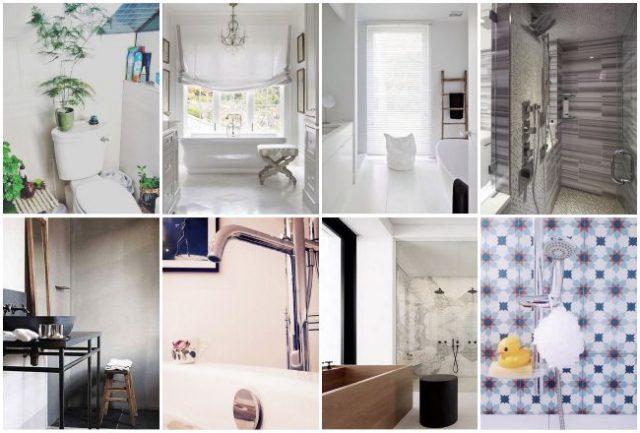 Instagram des id es d co pour la salle de bain cocon - Sechoir salle de bain mural ...