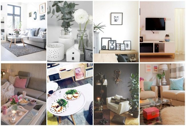 idee deco tendance salon instgram