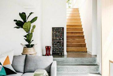 decorer son escalier top beau comment decorer son entree de maison alle de jardin sentier. Black Bedroom Furniture Sets. Home Design Ideas