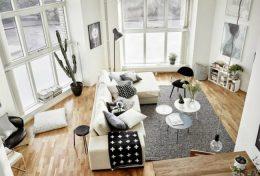inspiration deco tapis salon