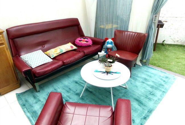 un nouveau tapis pour la v randa cocon d co vie nomade. Black Bedroom Furniture Sets. Home Design Ideas