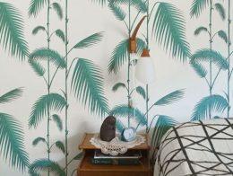 decoration idee inspiration vert chambre a coucher