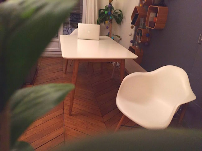 table salle a manger deco design scandinave dewarens