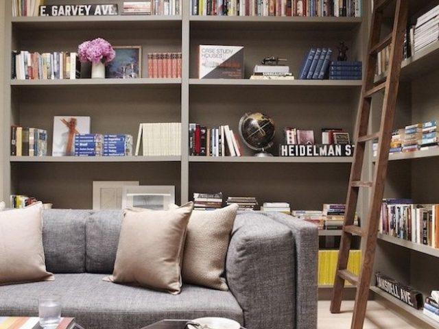 des tag res dans le salon cocon de d coration le blog. Black Bedroom Furniture Sets. Home Design Ideas