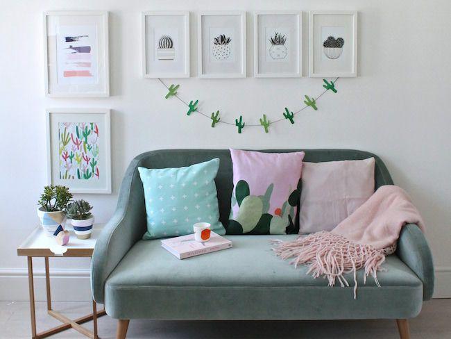 inspiration deco maison cactus tendance