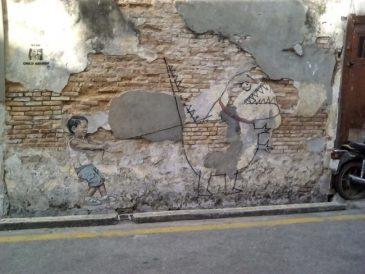 decouverte streetart georgetown malaisie culture
