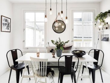 salle a manger deco nordique idee inspiration