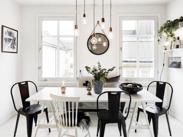 10 id es d co pour une salle manger nordique cocon de for Decoration pour une salle a manger
