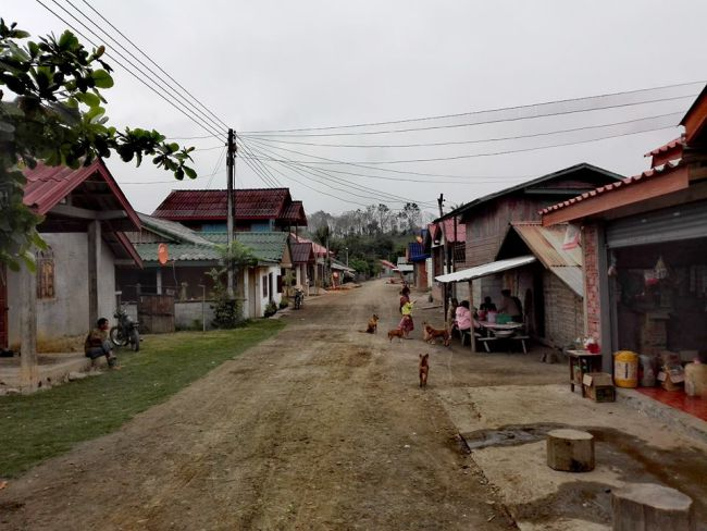 decouverte visite petit village laos