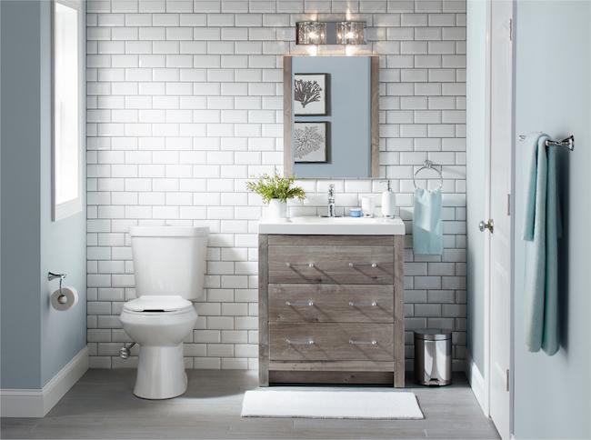 6 id es pour relooker facilement sa salle de bain cocon d co vie nomade. Black Bedroom Furniture Sets. Home Design Ideas