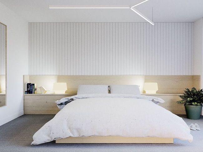choisir lampe de chevet chambre minimaliste