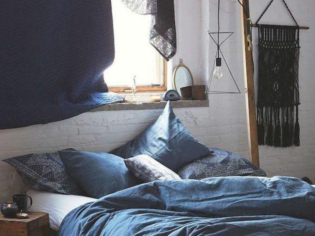 deco idee chambre bleue