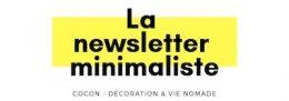 logo newsletter minimaliste