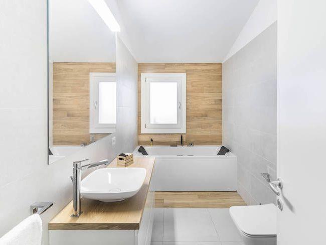 id es d co d corer sa salle de bain avec du bois cocon d co vie nomade. Black Bedroom Furniture Sets. Home Design Ideas