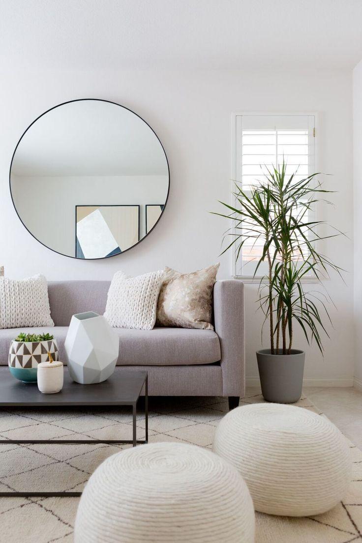 Decoration Murale Pour Salon tendance déco] coup de coeur pour le miroir rond   cocon