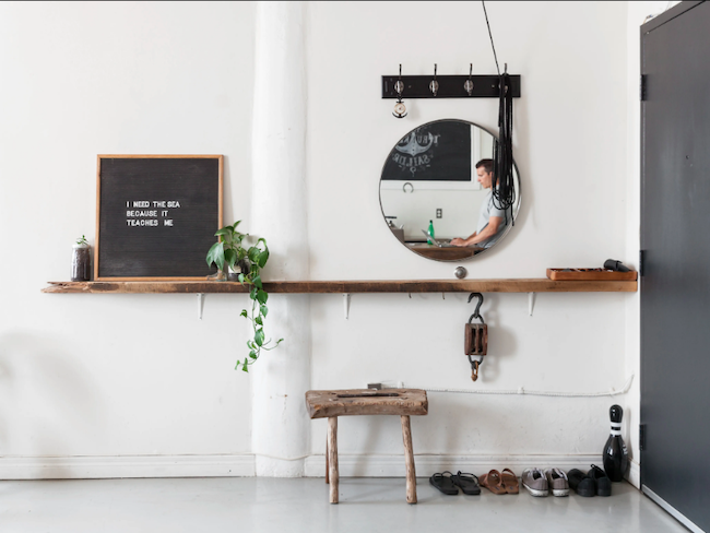 conseils indispensables entree minimaliste decoration
