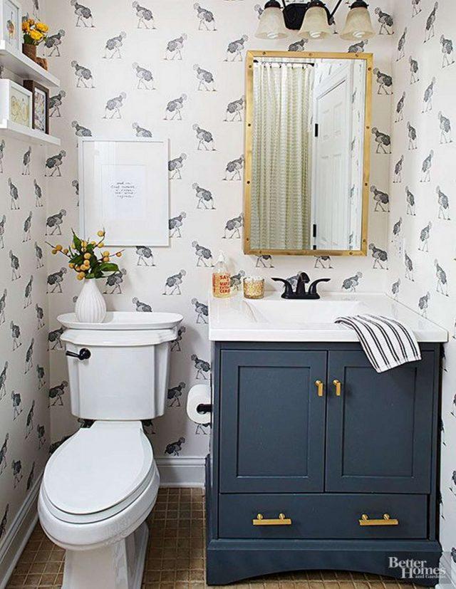 peinture lave main deco salle de bain