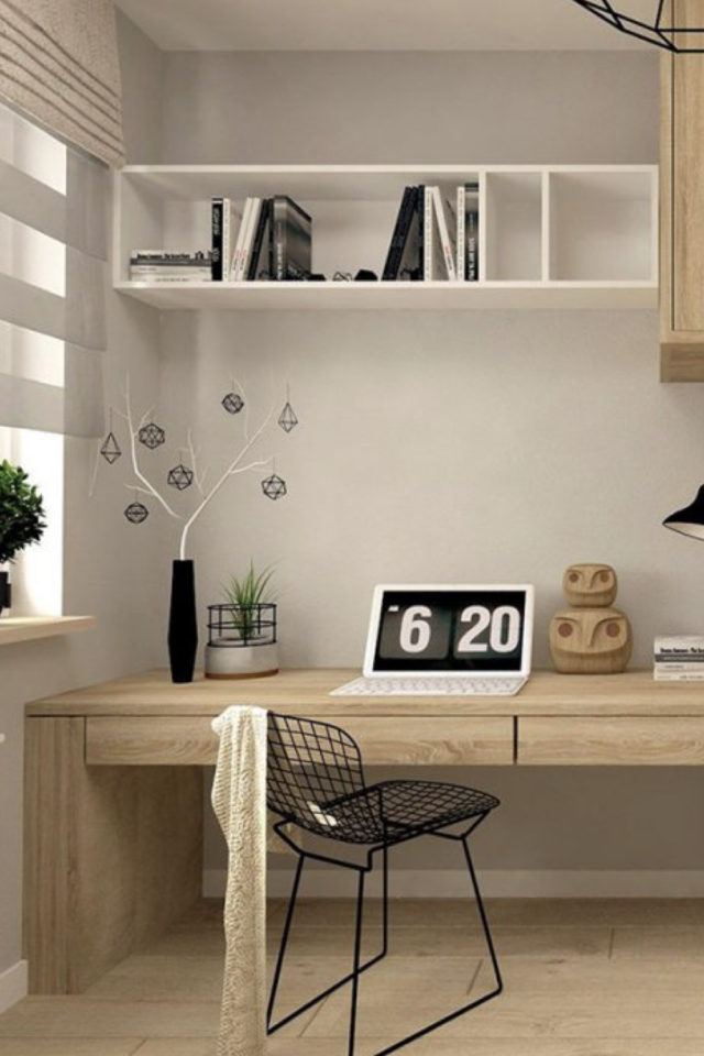 minimalisme bureau idee decoration 1