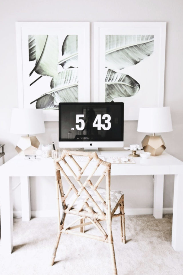 minimalisme bureau idee decoration 10