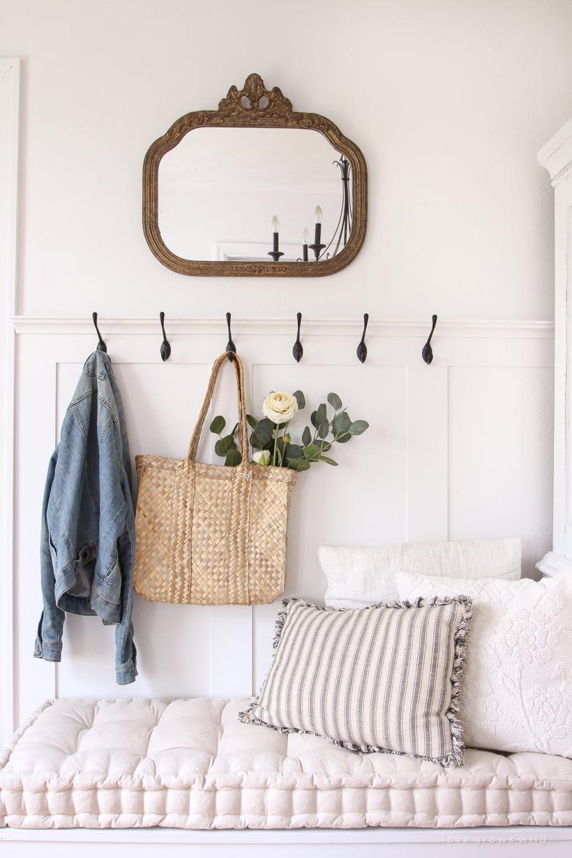 Décoration Petite Entrée Appartement conseils déco] créer une entrée quand on n'en a pas | cocon