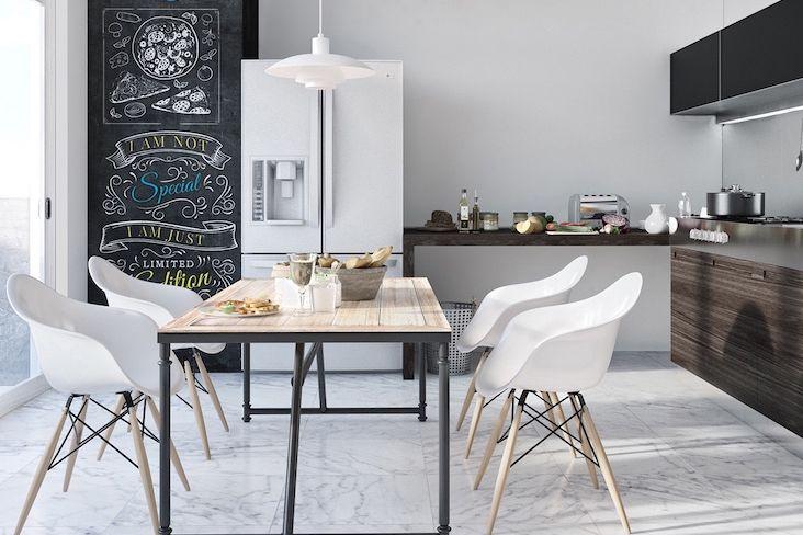 deco cuisine chaise tabouret banc assise