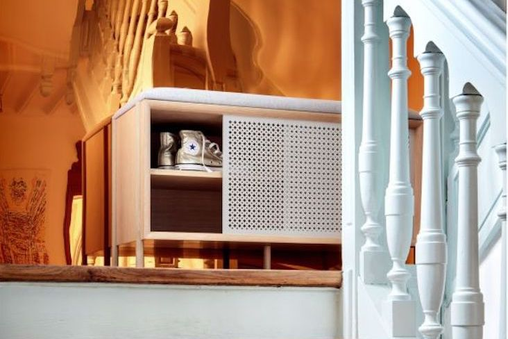 idee decoration banc entree mobilier