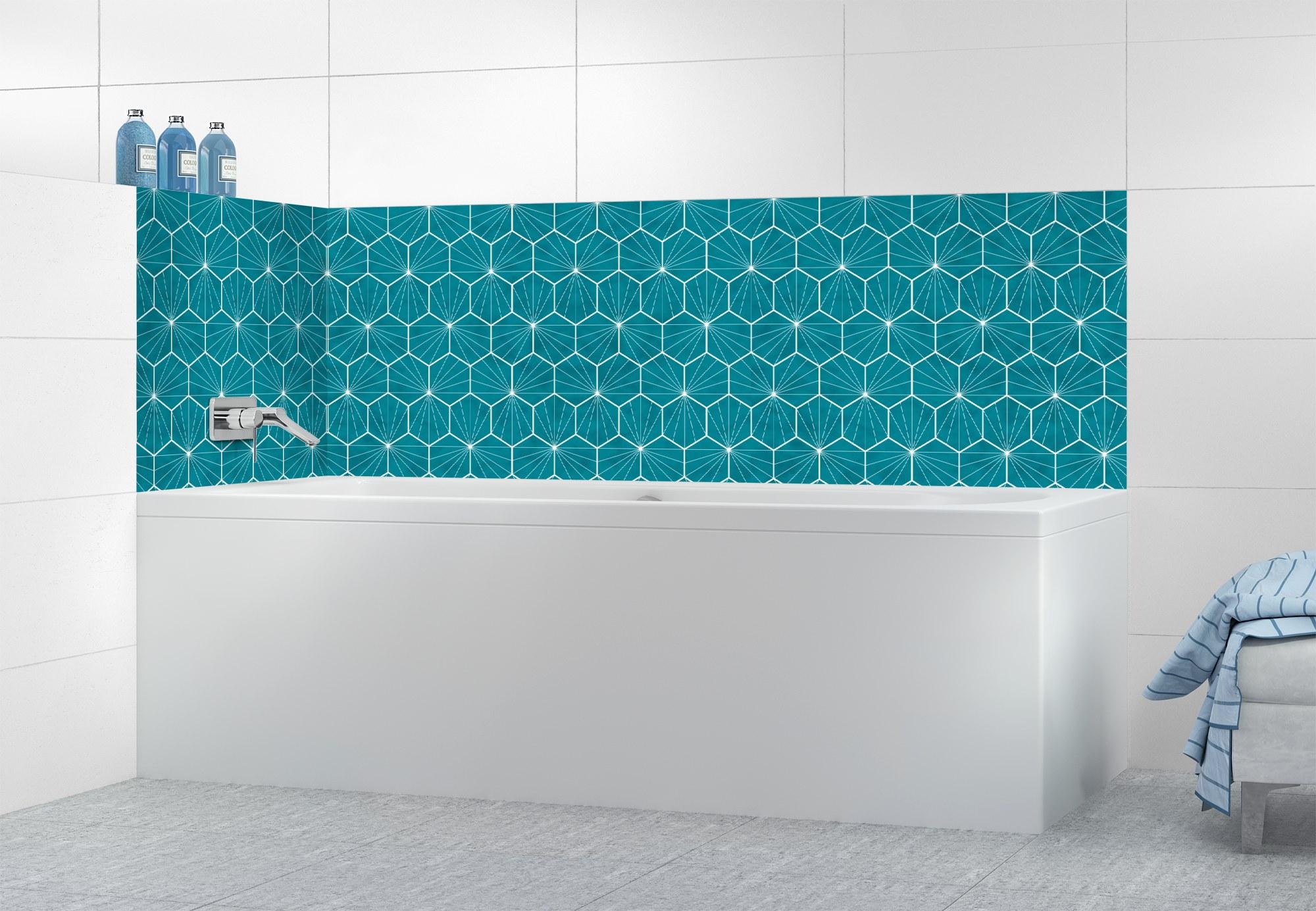 Carrelage Salle De Bain Bleu Turquoise couleur] du bleu dans la salle de bain | cocon - déco & vie