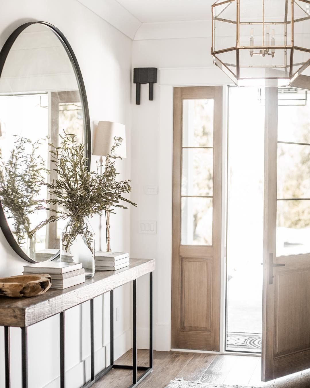 Mettre Un Miroir Dans Une Cuisine top déco] 7 manières de décorer l'entrée avec un miroir