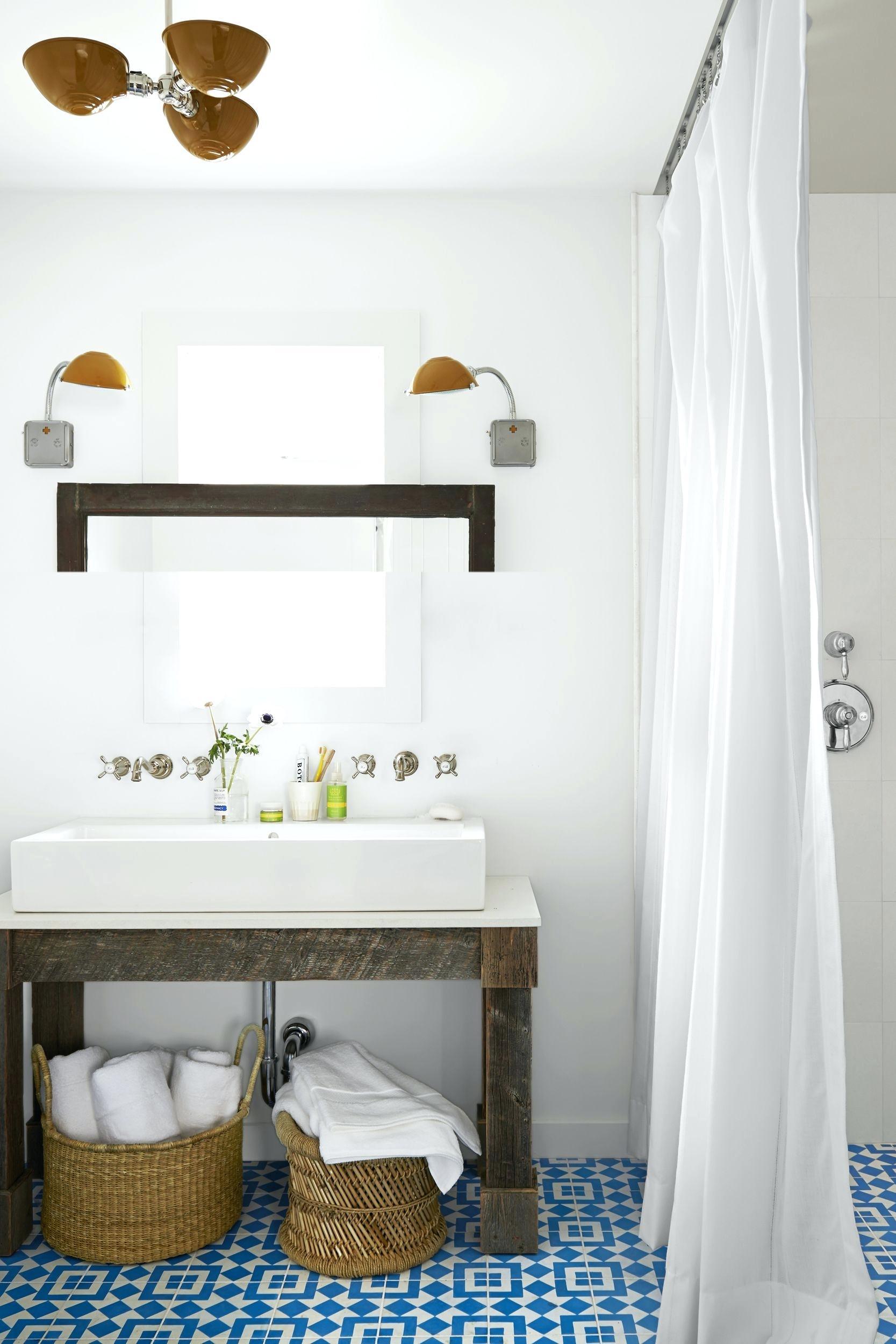 petite salle de bain amenagement douche italienne