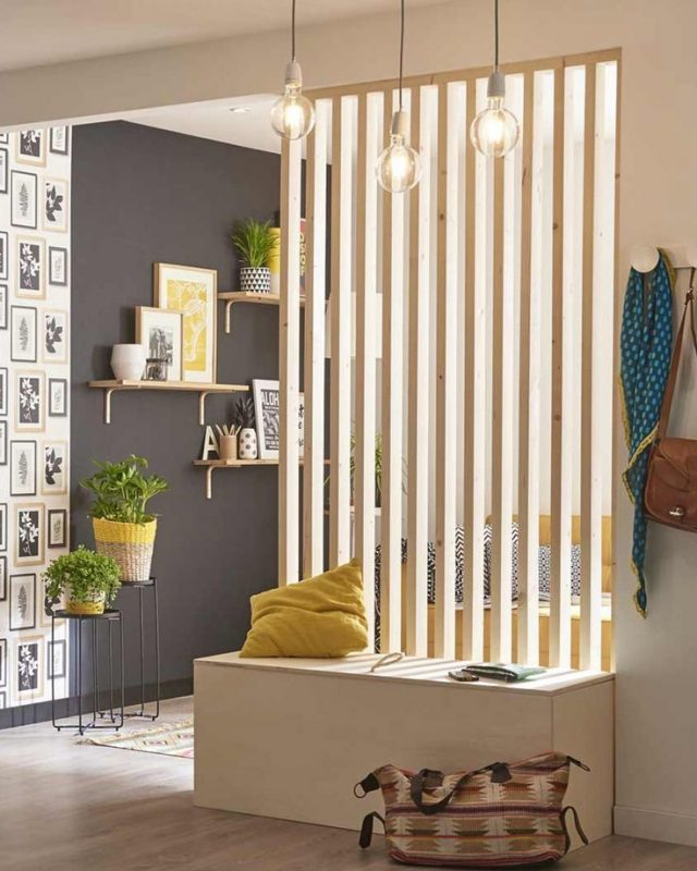 claustra entree idee decoration lumiere
