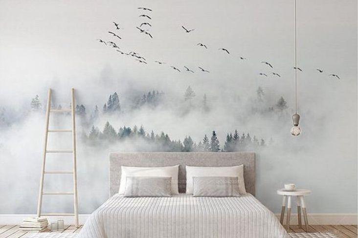 papier peint chambre motif selection