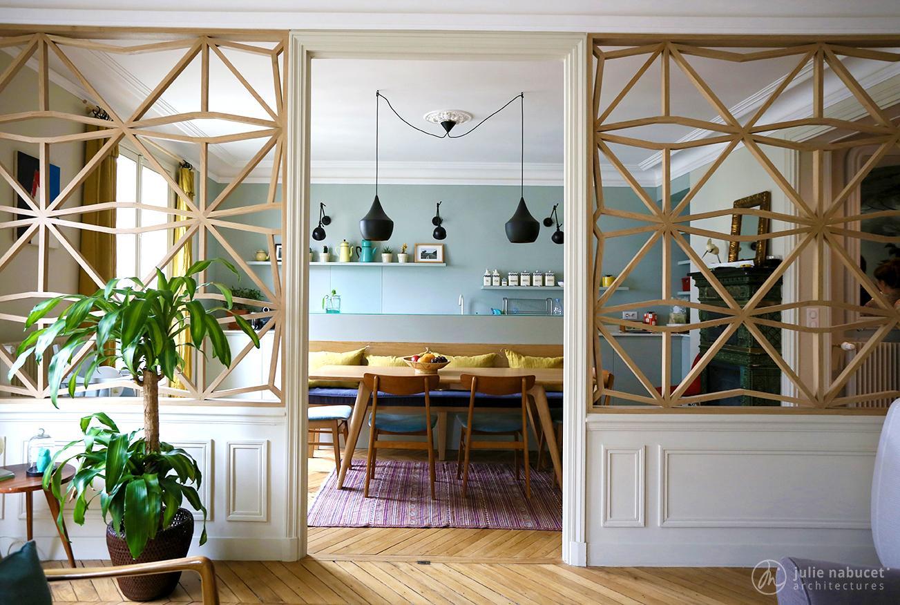 Idée déco] Des claustras dans le salon  Cocon - déco & vie nomade